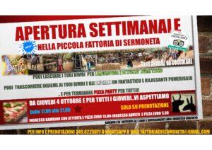 APERTURA SETTIMANALE @ LA PICCOLA FATTORIA DI SERMONETA