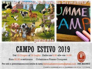 Campo Estivo 2019 @ La Piccola Fattoria di Sermoneta